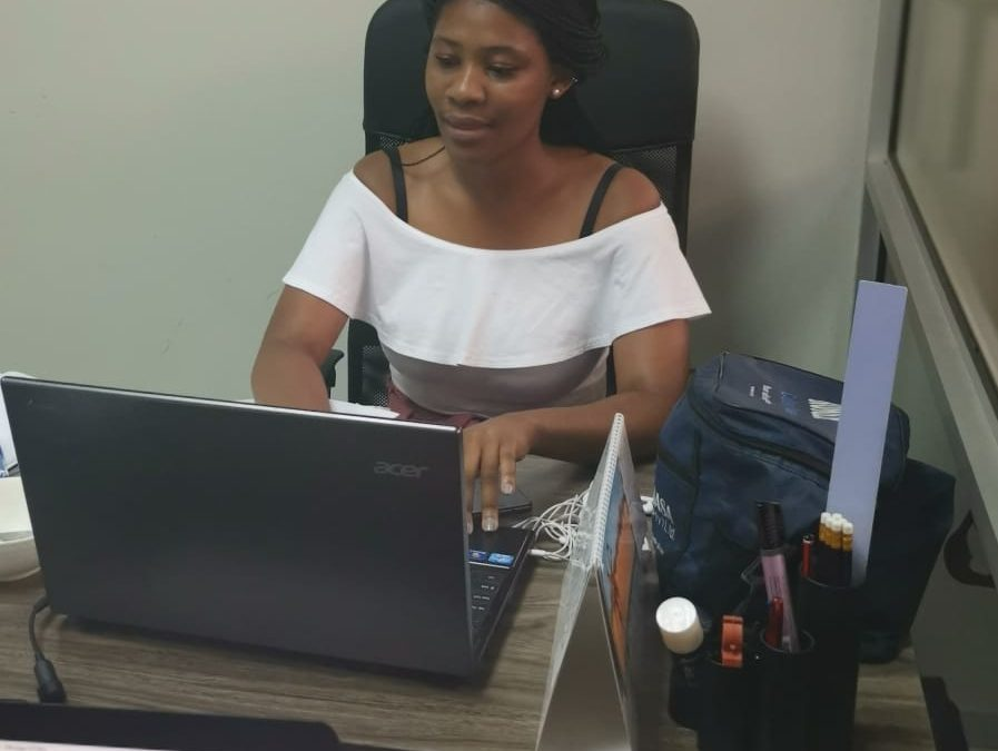Welcome to our Aet Africa team Ms Tina Gxowa