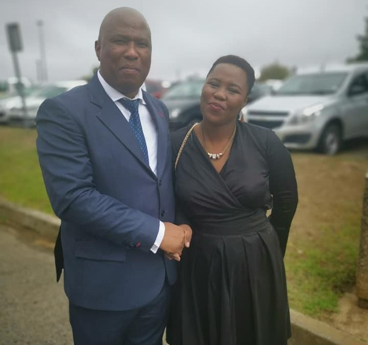 Our MD with MEC Oscar Mabuyane at Eastern Cape budget speech #Hotspot Dimbaza industrialization